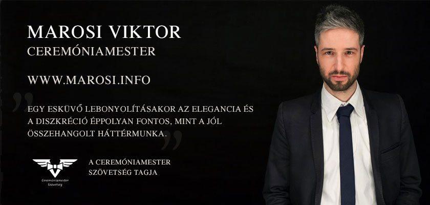 Partnereink - Marosi Viktor ceremóniamester - Pictorial esküvő fotó