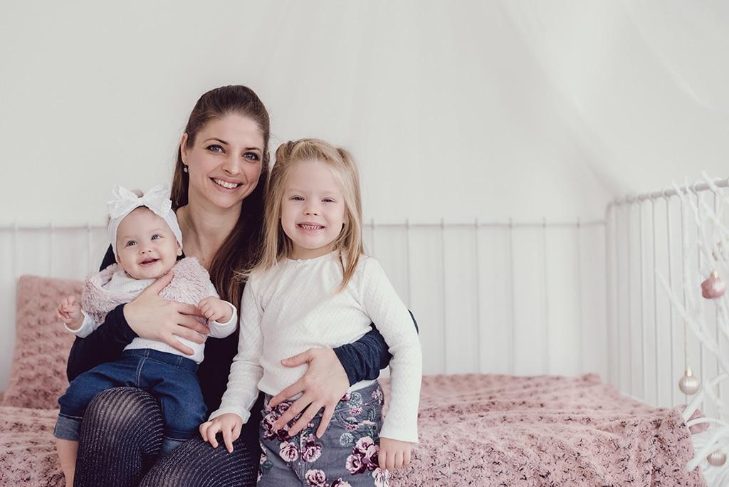 családi fotózás műteremben